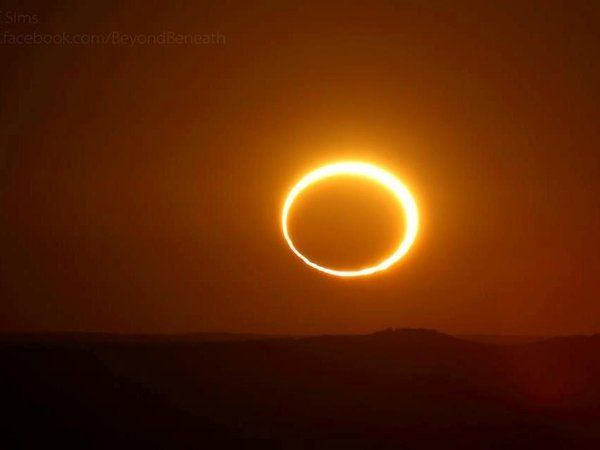 Ring of Fire solar eclipse puts on a dazzling show in Australian Outback - Science
