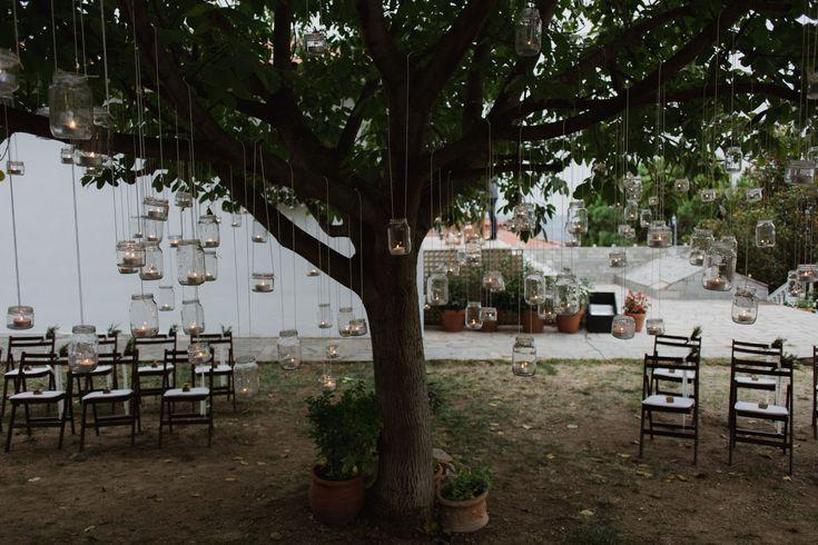 Fall backyard wedding - Greece wedding photographer