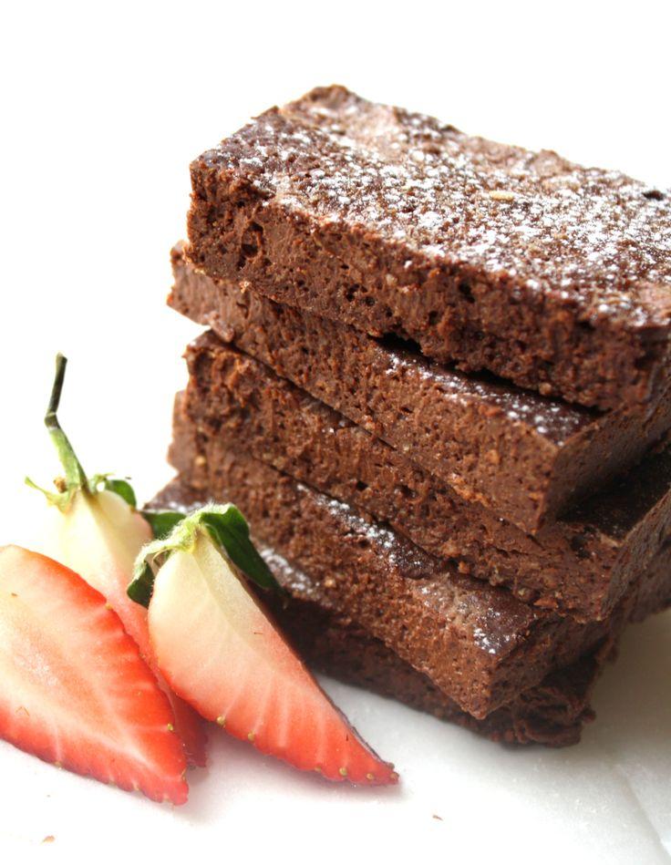 Hei!Det er torsdag som betyr søt oppskrift som kan passe til helga - idag dobbel sjokoladebrownie...