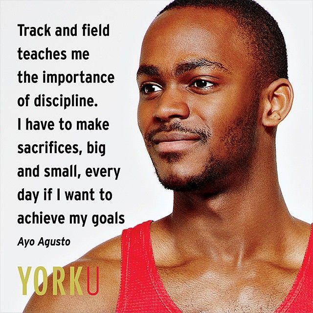 Lion pride. #MondayMotivation #YorkU #Athletics #Sports #Track