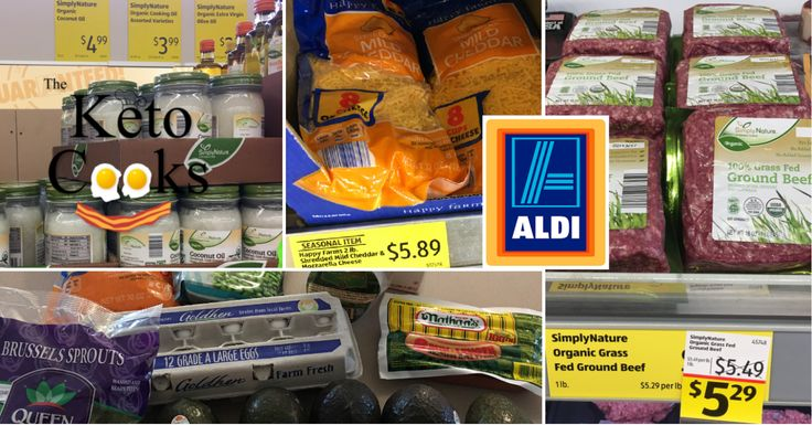 So you've researched the Ketogenic diet and are ready to stock up on pantry essentials. ALDI has ...