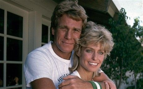 Ryan O'Neal and the missing painting of Farrah Fawcett by Andy ...