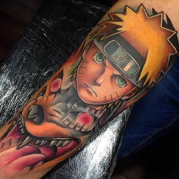 20 geniale Naruto Tattoos