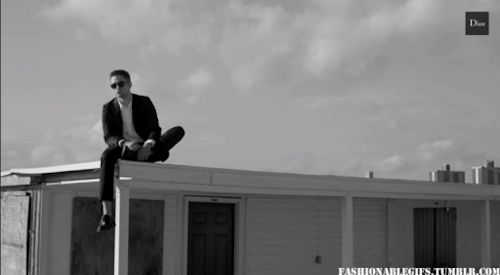 Dior Homme - the best commercial ever. We're in love so we made that gif <3