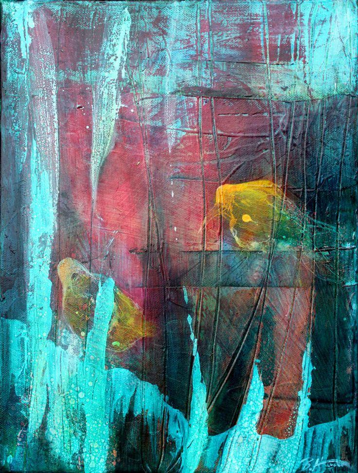 Kruki II, 30x40 cm,2011, oil on canvas, Barbara Hacura