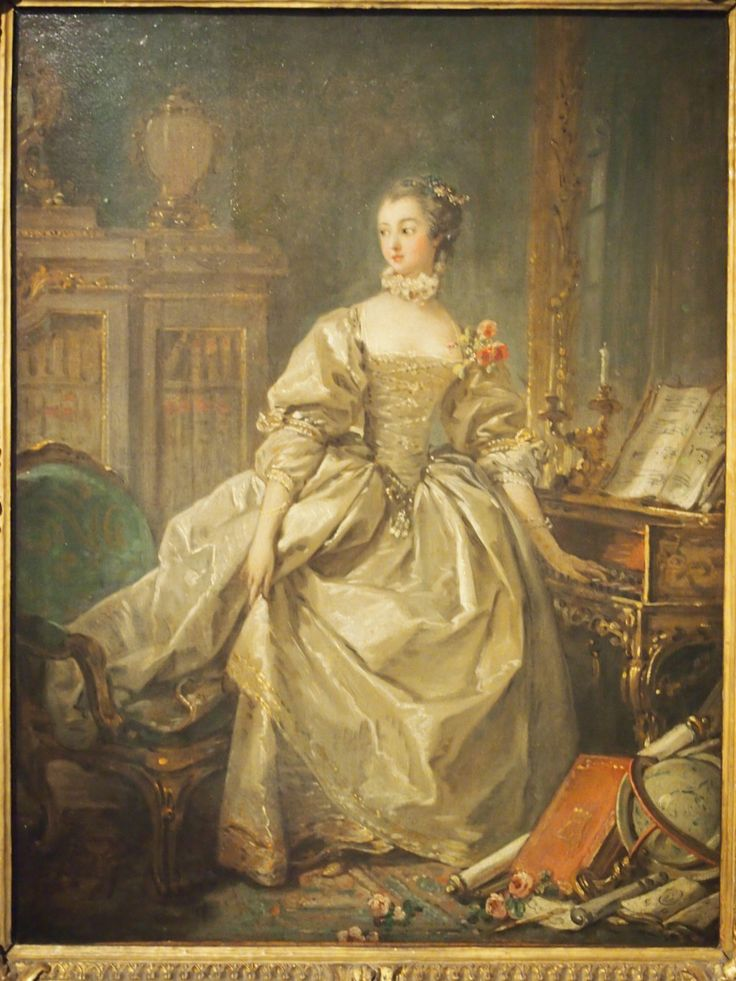 Boucher and Madame de Pompadour -- this is an exceptional relationship of a painter and his model: the woman who had everything -- the talent, the success, the real estate! What intelligence and elegance, what gracefulness and sadness.