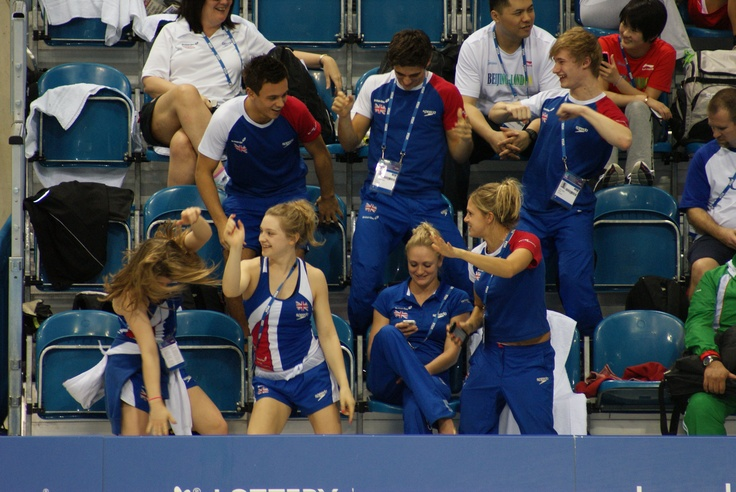 'Dancing' Daley and the GB Diving team