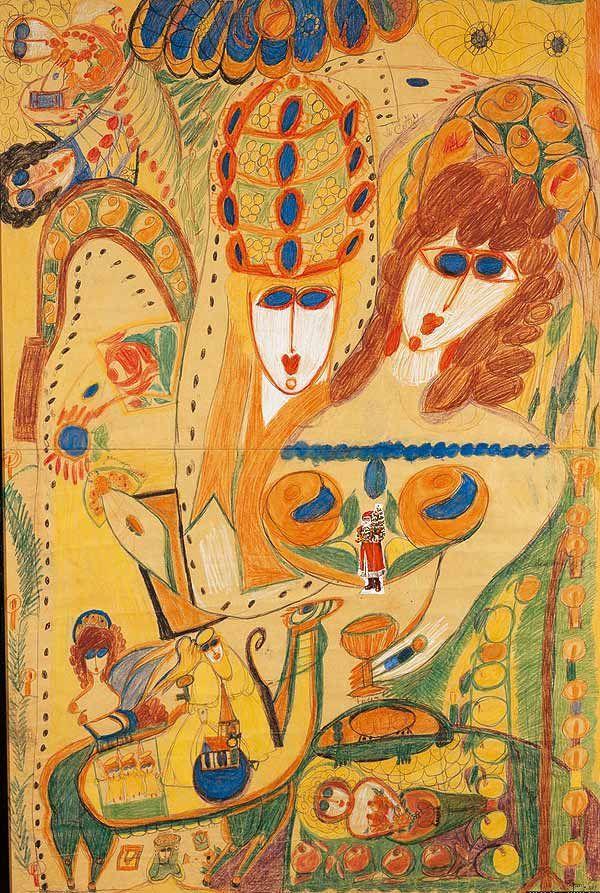 Exposition Aloïse, collection d'art brut à Lausanne