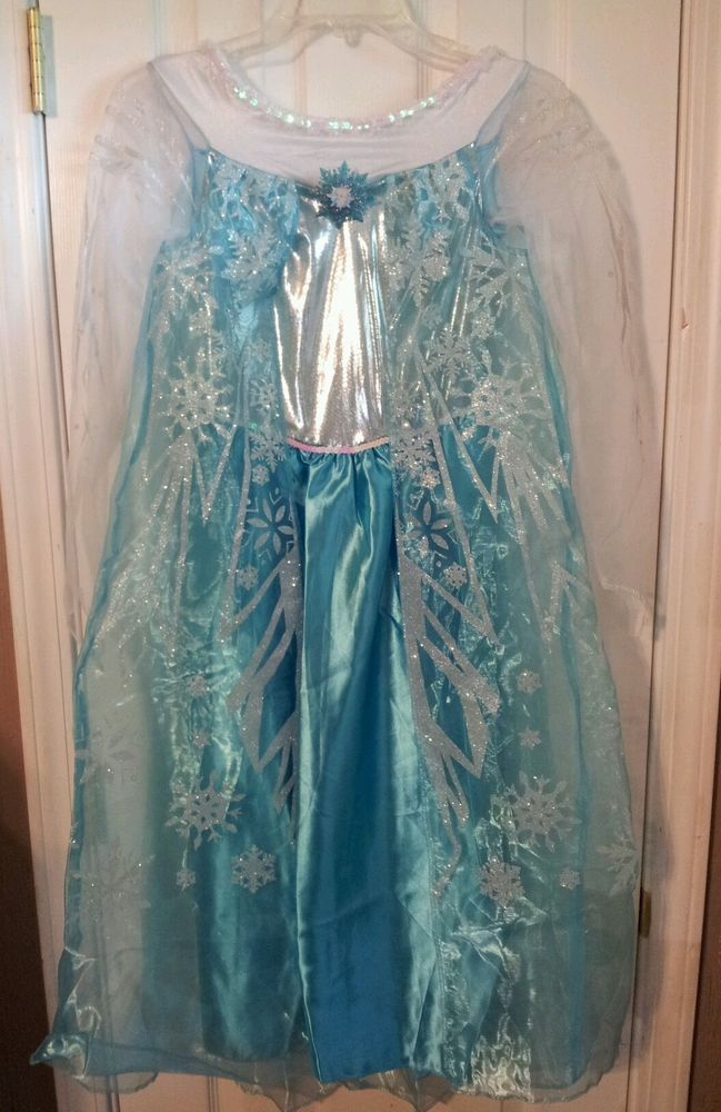 Disney Frozen Elsa Girl Costume Dress Wig Size 10/12 #Disguise #Dress & 15 best FROZEN Elsa u0026 Anna images on Pinterest   Disney frozen Ebay ...