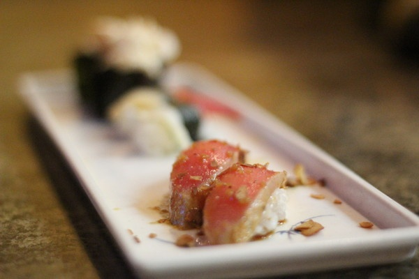 Many rolls are served in smaller quantities, so you can sample more dishes at Z Sushi Cafe in French Valley, Calif.
