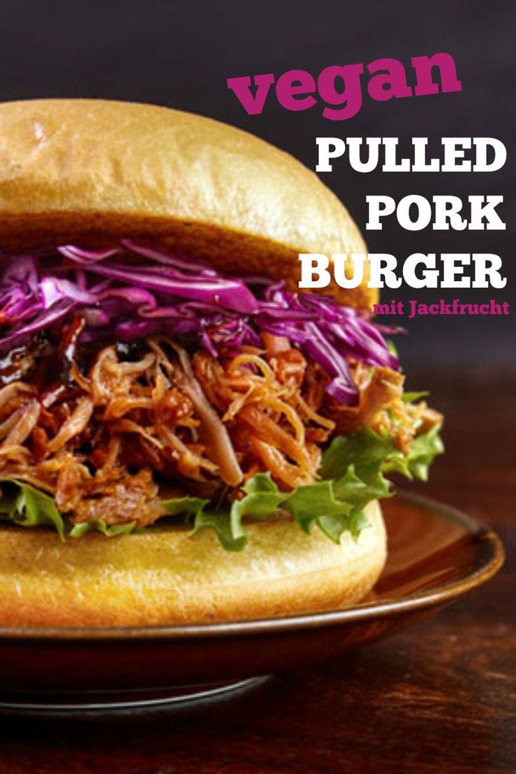 Vegane Pulled Pork-Burger aus Jackfrucht selber machen | http://eatsmarter.de/ernaehrung/news/pulled-pork-burger-aus-jackfrucht-selber-machen