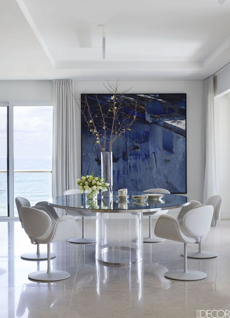 HOUSE TOUR: A Palm Beach Apartment Full Of Contemporary Art And Coastal Decor