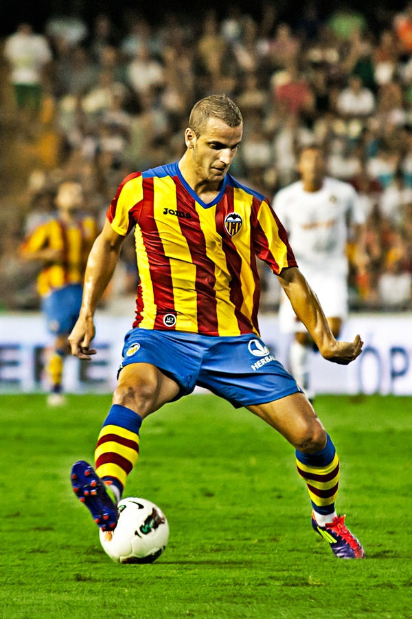 Roberto Soldado - Real Madrid, Osasuna, Getafe, Valencia, Spain.