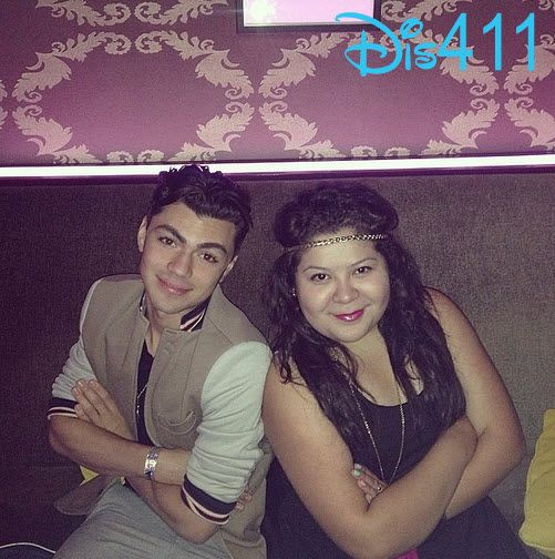 Photo: Raini Rodriguez And Adam Irigoyen Together March 19, 2014