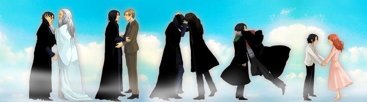 Harry Potter Severus Snape Rogue
