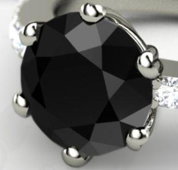 memiliki warna hitam bukan berarti perhiasan dengan batu berlian hitam terlihat jelek, justru berlian ini sangat istimewa