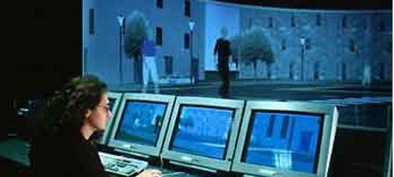 Interagir dans un monde virtuel via ses sens et en temps réel #immersia #rennes