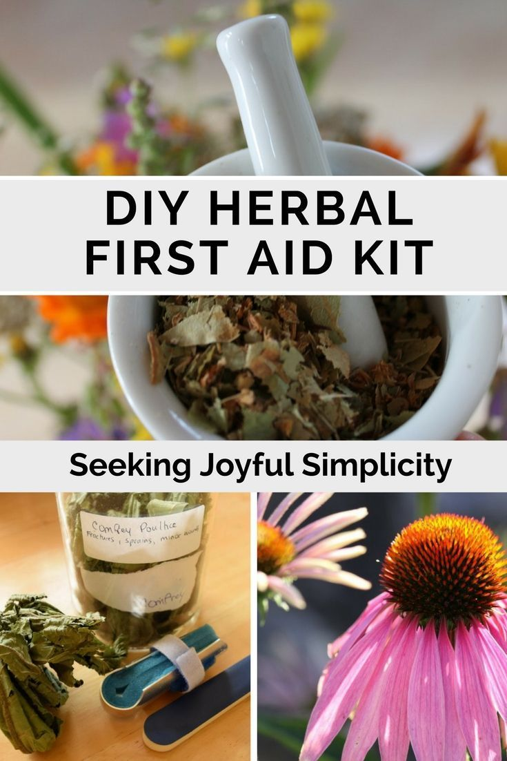 A DIY herbal first aid kit doesn't have to be complicated or expensive. Using these 4 herbs we can easily stop bleeding, prevent infection, heal wounds and burns, and enjoy fast relief from bee stings and other first aid events.