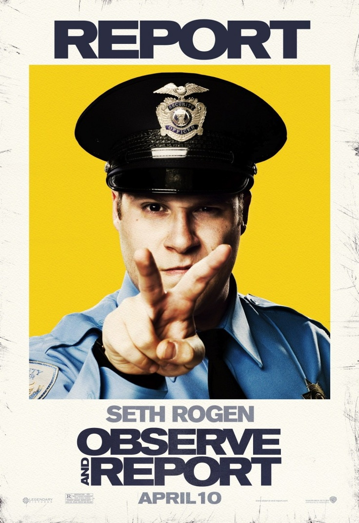 Image detail for -Observe and Report Movie Poster