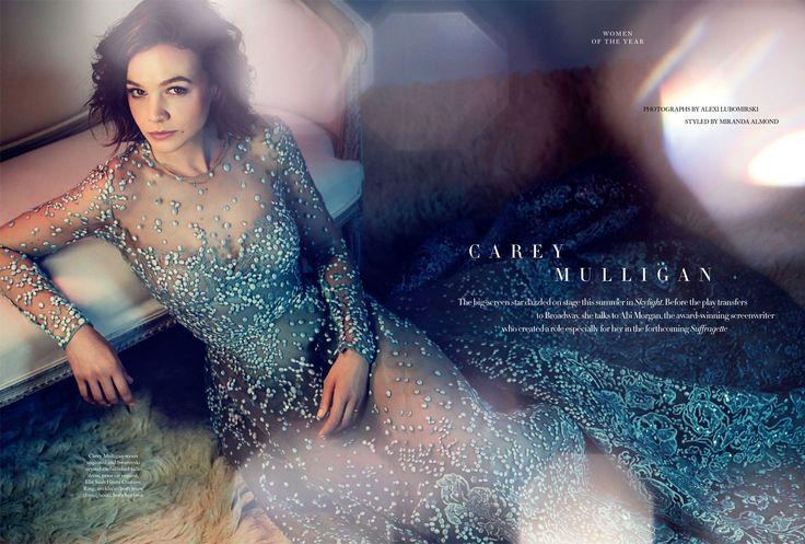 Fashiontography: Carey Mulligan by Alexi Lubomirski
