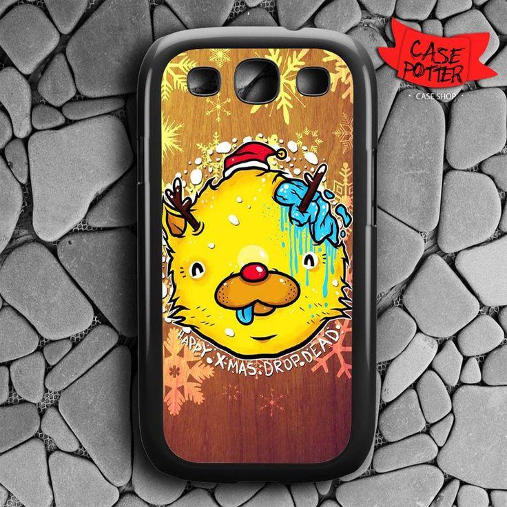 Happy X-Mas From Dropdead Samsung Galaxy S3 Black Case