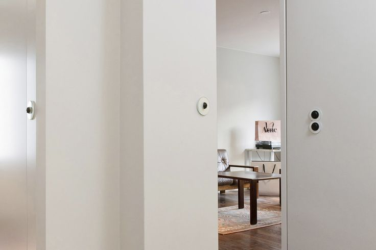 Helsinki apartment by Poiat. Switches by Berker
