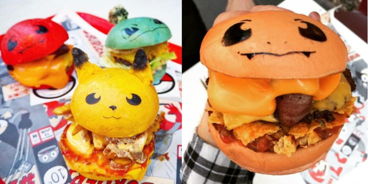 Australian restaurant's Pokéburgers are almost too cute to eat