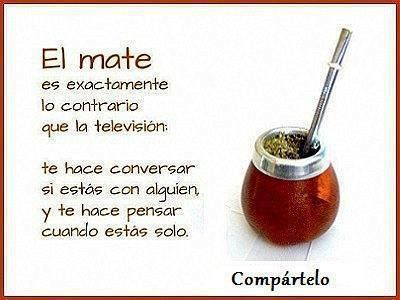 El Mate. I could drink it ALL day long!