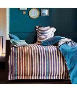 Dekbedovertrek Dommelin Stripe blauw paars