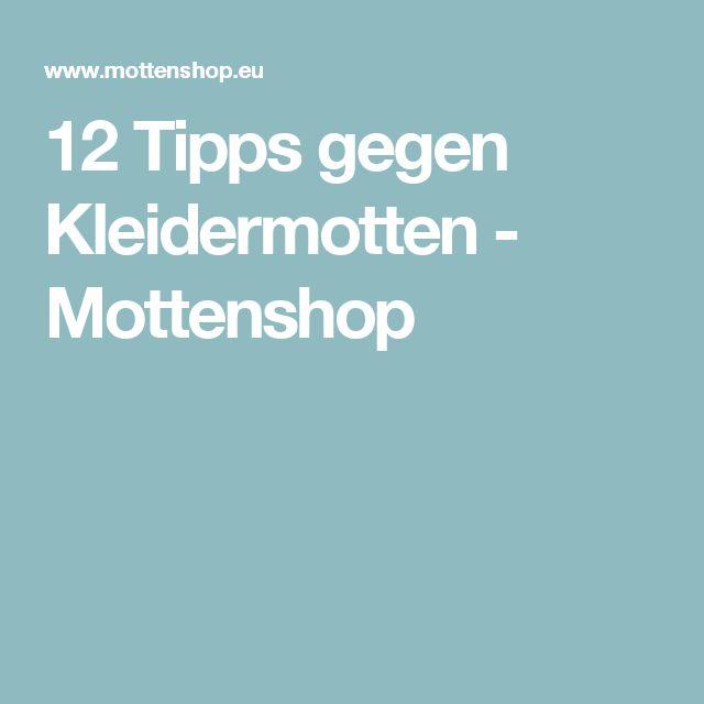 Popular  Tipps gegen Kleidermotten Mottenshop