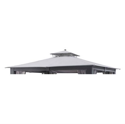 allen + roth Collection Name Gray Gazebo Replacement Canopy Top | *Outdoor Structures u003e Canopies u0026 Gazebos* | Pinterest | Replacement canopy Allen roth and ...  sc 1 st  Pinterest & allen + roth Collection Name Gray Gazebo Replacement Canopy Top ...