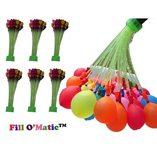 Disph® Magic Water Balloon Maker - Makes 37 Water Balloons at a Time (4 pack) 148 balloons per minute No Tying Required - (Color May Vary)