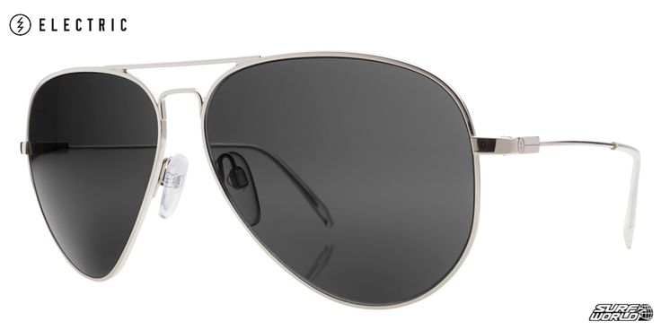 Electric AV1 Large Platinum Polarized Sunglasses EE11109742