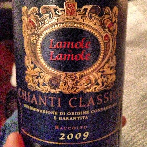 Lamole di Lamole 2009, vuoi mettere? E' chianti classico!