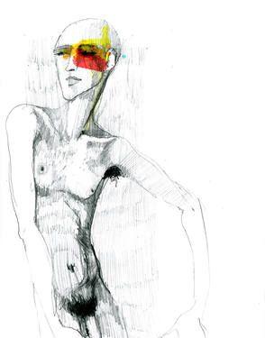 "Saatchi Art Artist Luigi Ciuffreda; Drawing, ""ED"" #art"