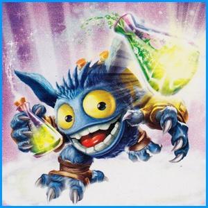 Skylanders Lightcore Pop Fizz....pop fizz potion gor bday party