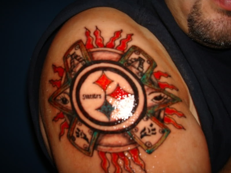 23 best steelers inked images on pinterest steelers for Tattoo shops in pittsburgh pa
