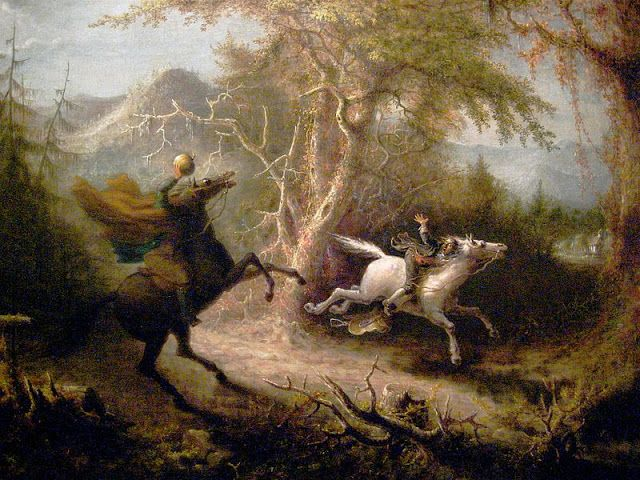 Thrifty Scissors: The Legend of Sleepy Hollow by Washington Irving
