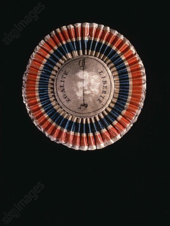 French Revolution Cockade, 1789