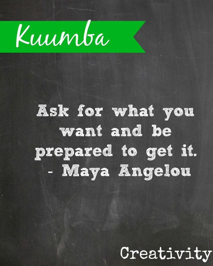 #Kwanzaa Kuumba means Creativity {PLEASE DO NOT ALTER THIS IMAGE WITHOUT PERMISSION}