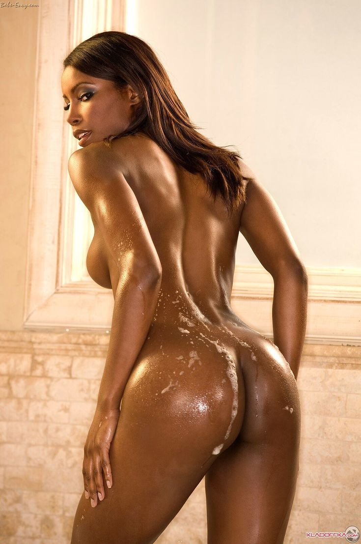 black girl nude shower