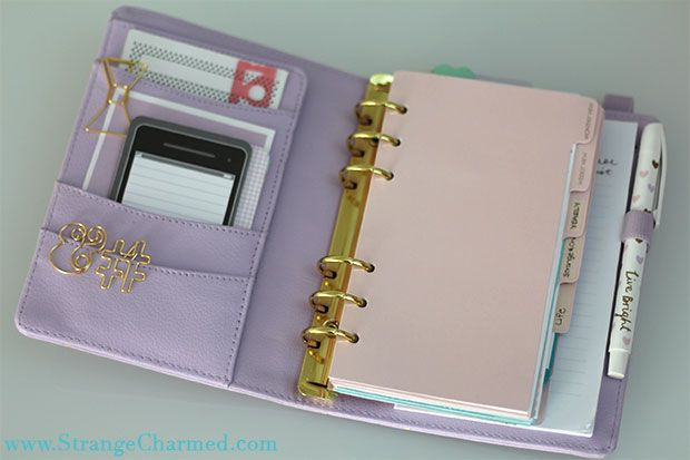Anatomy of a Perfect Planner   Kikki K 2015 Lilac Time Planner Set Up!