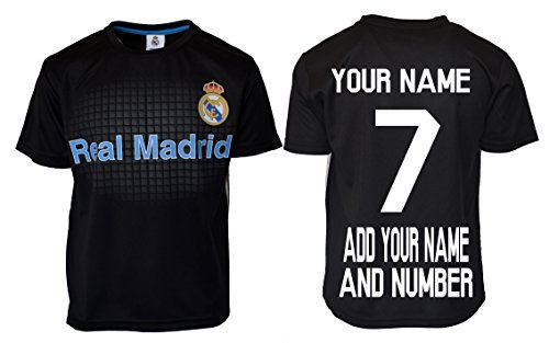 Cheap Real Madrid Soccer Jersey Youth Boys Training Custom Name and Number Father day sale