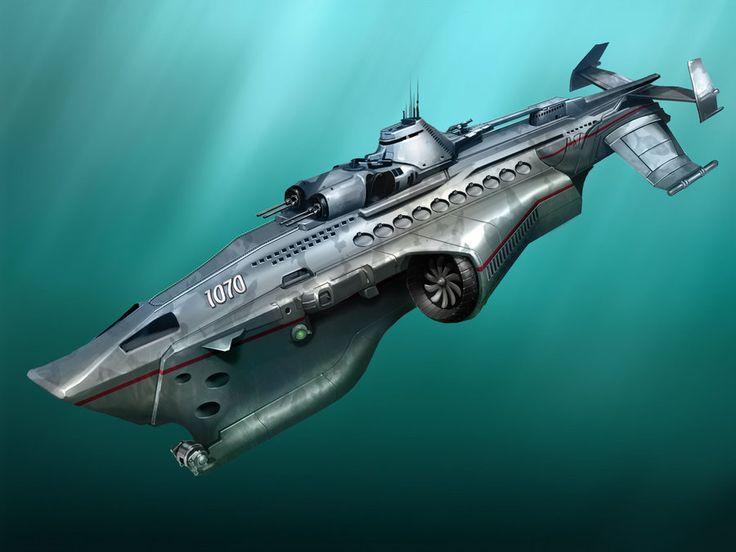 "Future Russian ""Tsunami"" Cruiser-SSBN by DaniilKuksov ..."