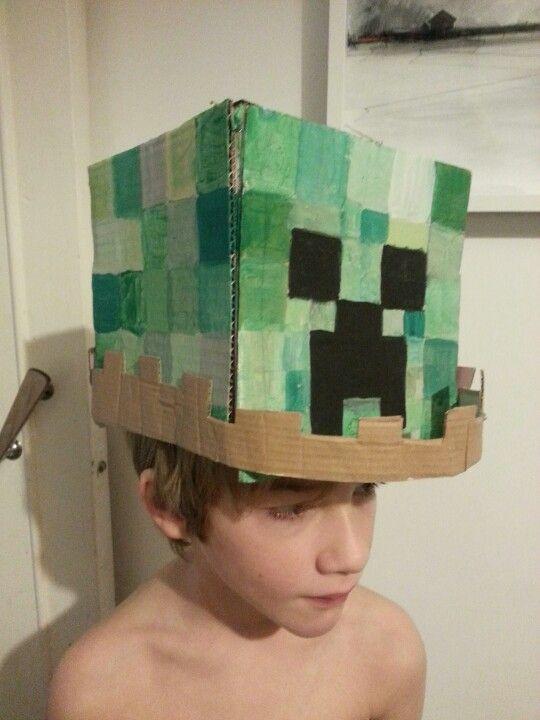 Minecraft Easter bonnet