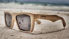 Environmentally friendly handcrafted bamboo wood sunglasses. Ethical. Sustainable. Handcrafted. Free Worldwide Shipping.