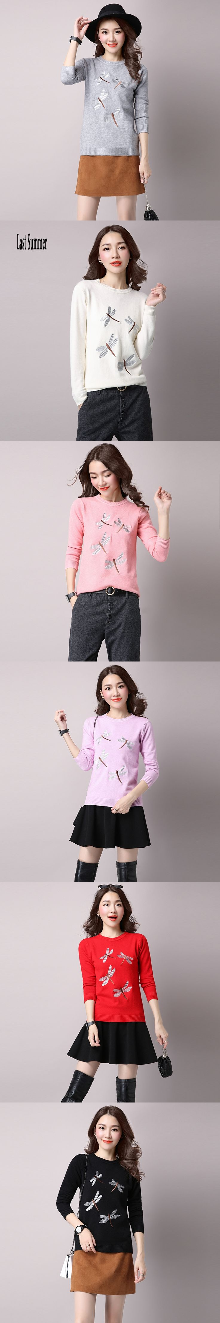 Free Shipping New Fashion 2017 Autumn Winter for womens Cashmere  sweaters Thick loose Warm Knitted Sweet Pullovers sweaters