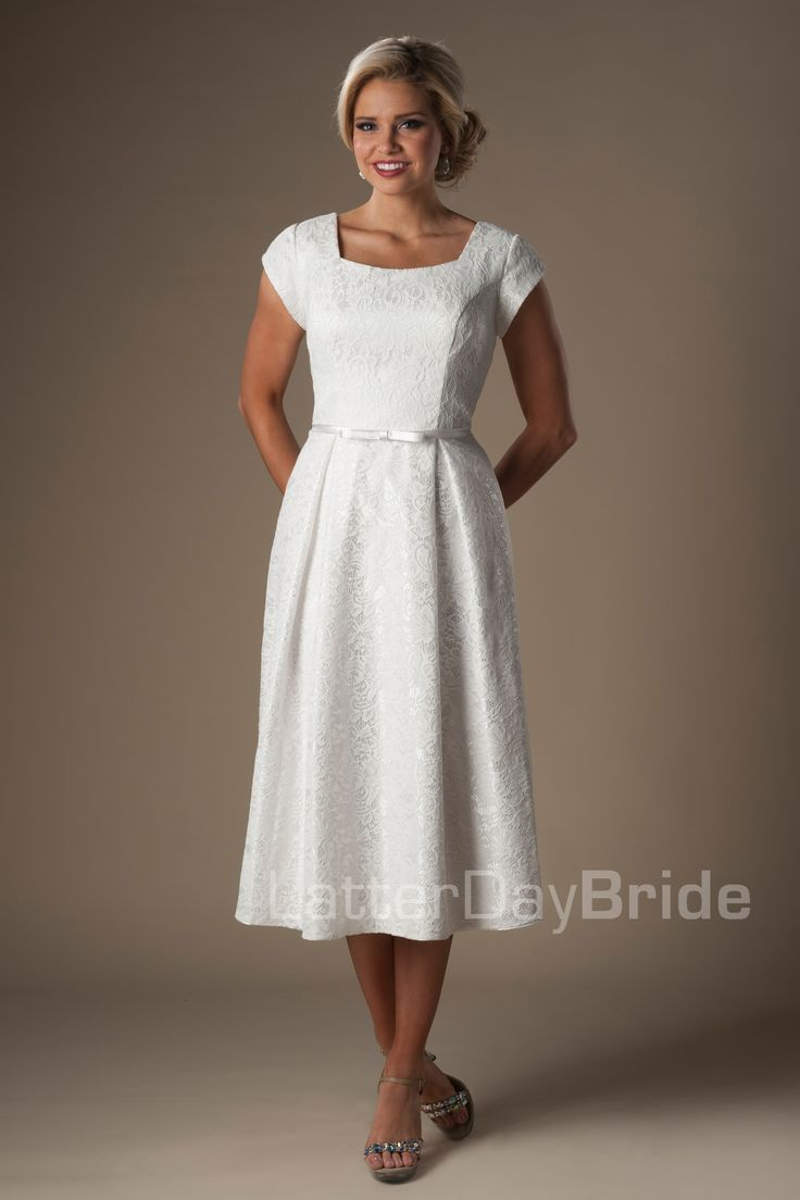 Modest wedding dresses roscoe modest wedding dresses for Latter day bride wedding dresses