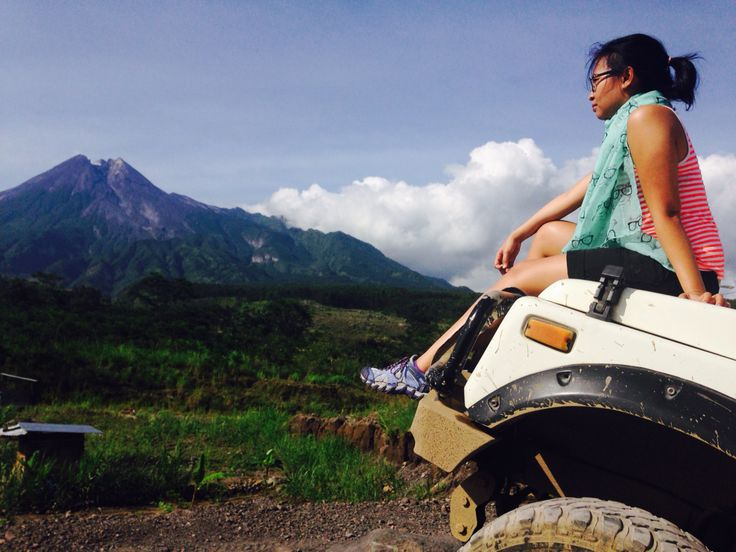 Take a breath after Offroad (Merapi-Central Java)