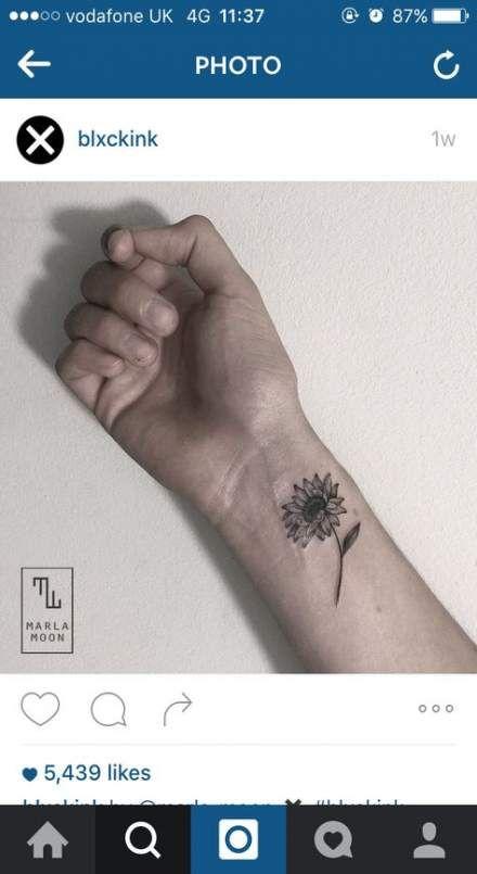 New tattoo sunflower ankle ears 59+ Ideas
